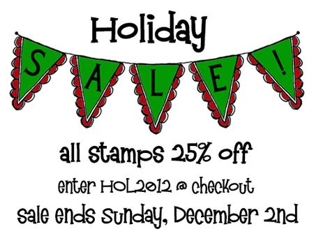 Holiday 2012 Sale blog