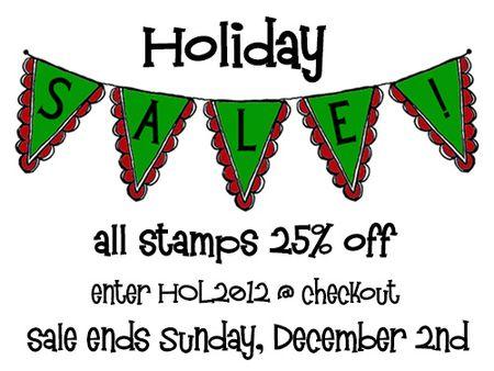 Holiday 2012 Sale blog