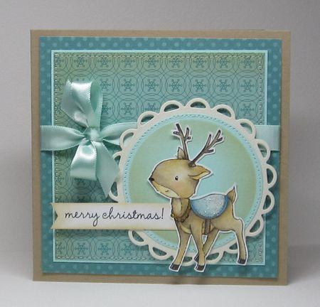 Paula Williamson  - Merry Christmas Laurel Card