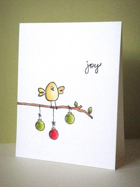 Donna Mikasa - Joy Bird Card