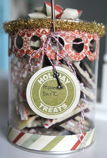 Ronda Palazzari - Holiday Treats Peppermint Bark