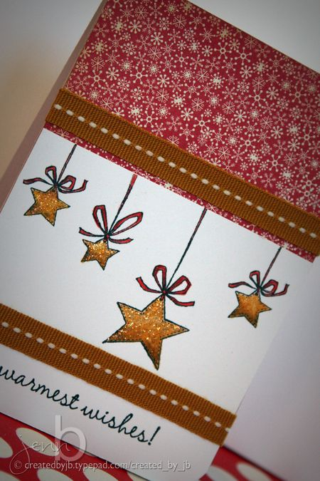 Jenn Biederman - Wishing Stars Card