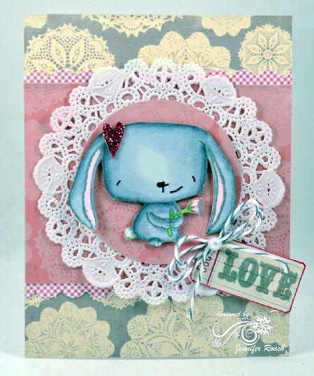 Jen Roach - Stacey Bunny love card