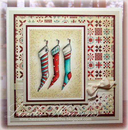 Linda Heavens - Stacey Yacula Stockings