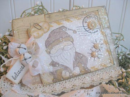 Cherry Nelson - Santa Card