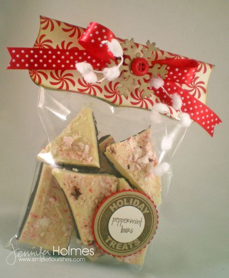 Jennifer Holmes - Holiday Treats - Peppermint Bars