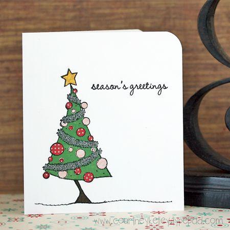 Courtney Kelley - Season's Greetings Tree