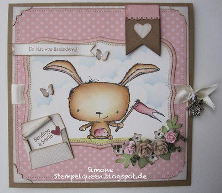 Simone Schwagler - Send a Smile Poppy Card