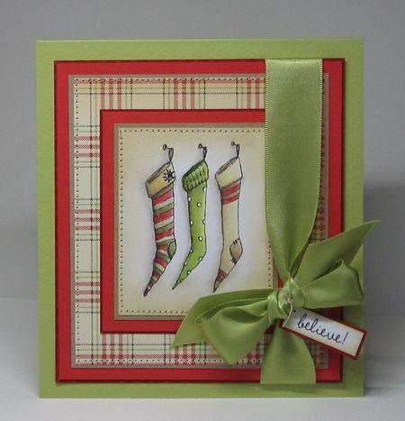 Paula Williamson - Stockings Card
