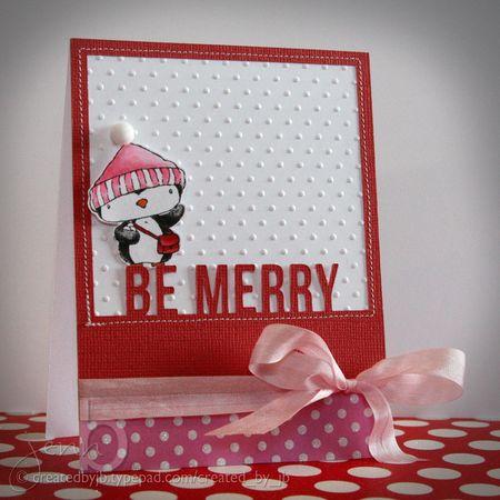 Jenn Biederman - Filbert Be Merry Card