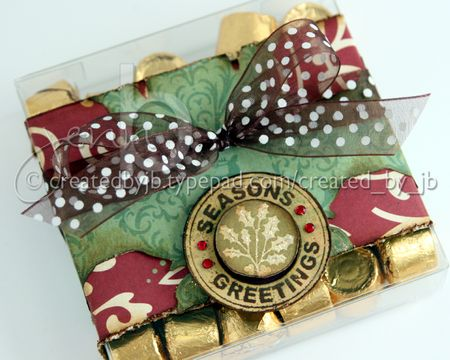 Jenn Biederman - Seasons Greetings Logo Candy Box