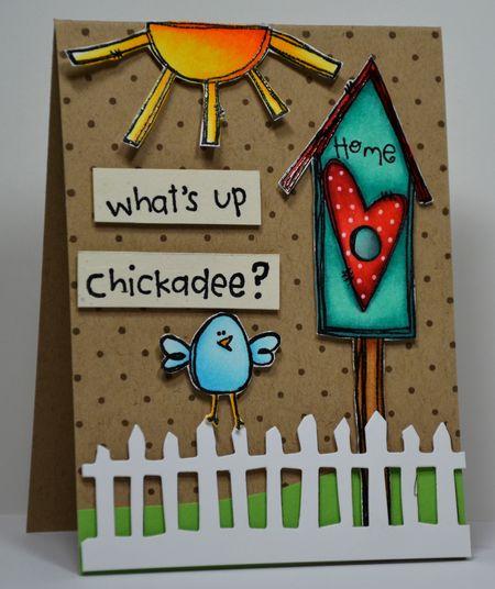 Kelly Booth - Birdhouse Card