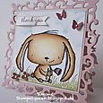 Simone Schwagler - Intricate Frame Rosie Thank You Card