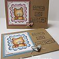Simone Schwagler - Framed Baby Bear Cards