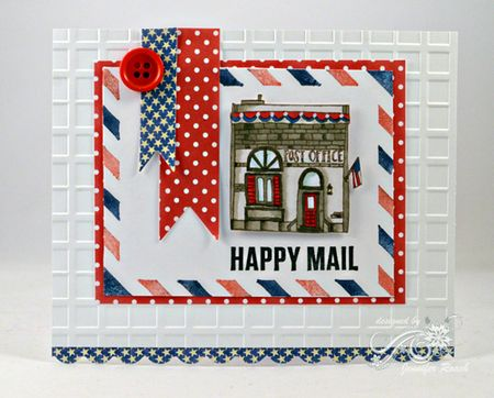 Jen Roach - POD Happy Mail card