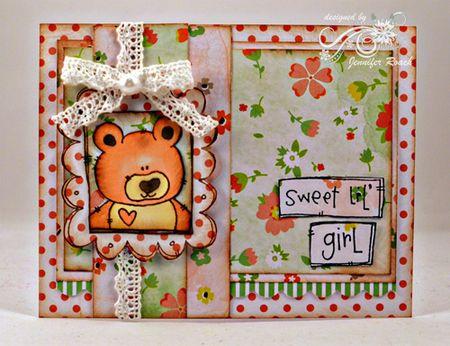 Jen Roach - Bear Doodle frame