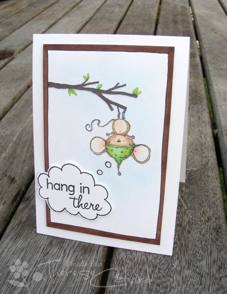 Therese Calvird - Hang in There Card