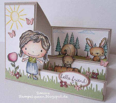 Simone Schwagler - Sweetest Summer Step Up Card
