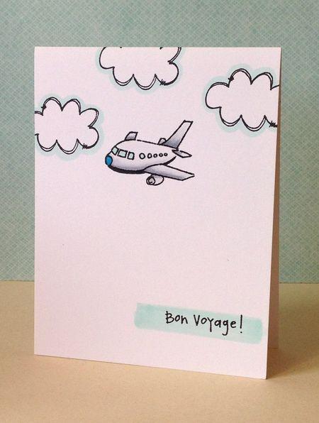 Donna Mikasa -Bon Voyage Card