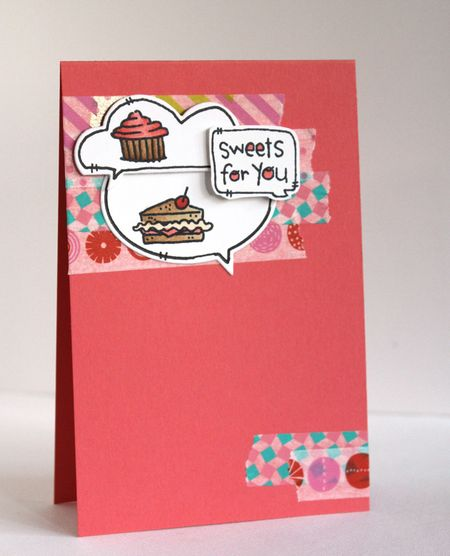Alice Wertz - Sweets For You Card