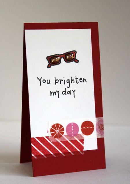 Alice Wertz - You Brighten My Day Card