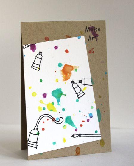 Alice Wertz - Make Art Card