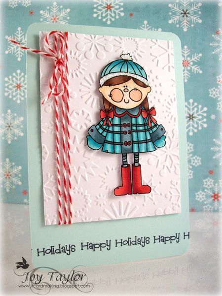 - Joy Taylor - Ginger Happy Holidays Card