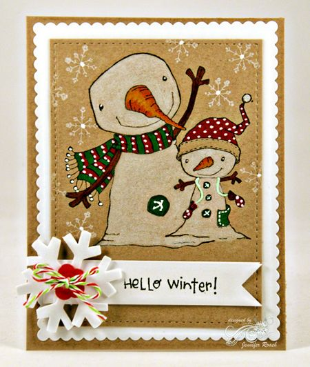 Jen Roach - Stacey Y Winterberry and Berry card