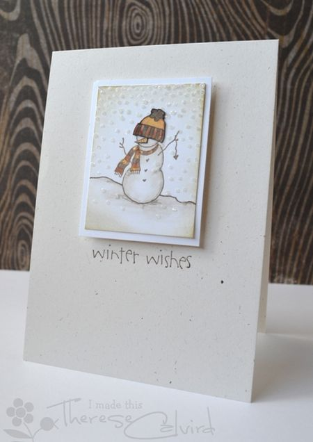 Therese Calvird - Winter Wishes Card