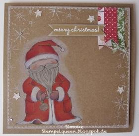 Simone Schwagler - Santa card