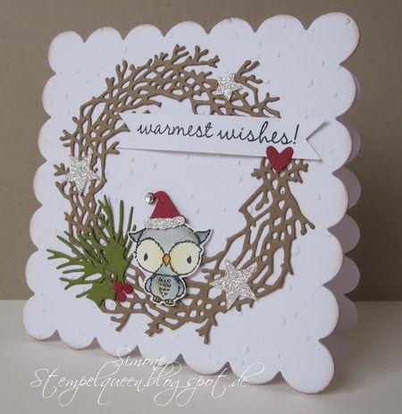 Simone Schwagler - Shadow Wreath Card