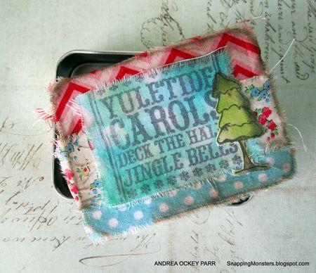 Andrea Ockey Parr - Fabric Covered box