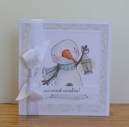 Paula Williamson - Berry Warmest Wishes Card