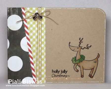 Piali Biswas - Danson Holly Jolly Christmas Card