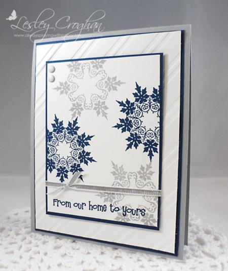 Lesley Croghan Snowflake Card