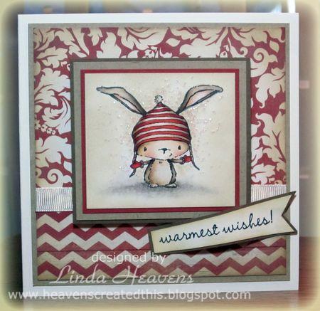 Linda Heavens - Birch Warmest Wishes Card
