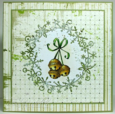 Marilyn Scheller - Jingle Bells Card