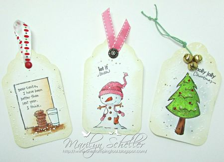 Marilyn Scheller - Holiday Tags