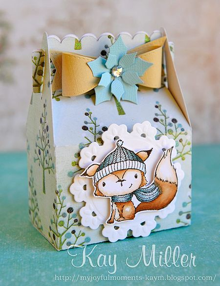 Kay Miller - Cedar Gift Box