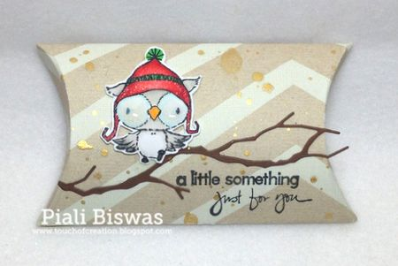 Pillowbox giftcard holder