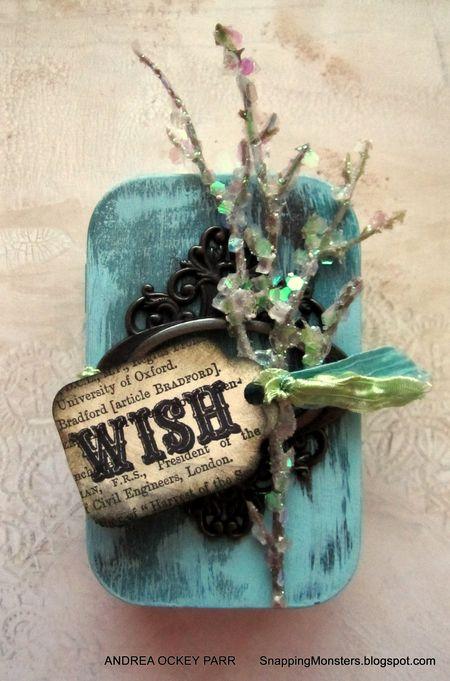 Andrea Ockey Parr - Wish Gift Card Holder - front