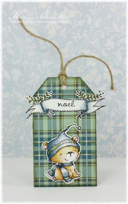 Karin Akesdotter - Icicle Plaid tag