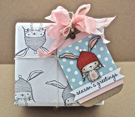 Judith Gowdy - Birch Gift Wrap and Tag
