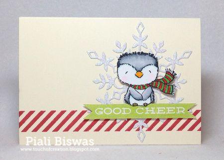 Piali Biswas - giftcard holder