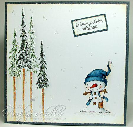 Marilyn Scheller - Winterberry Card