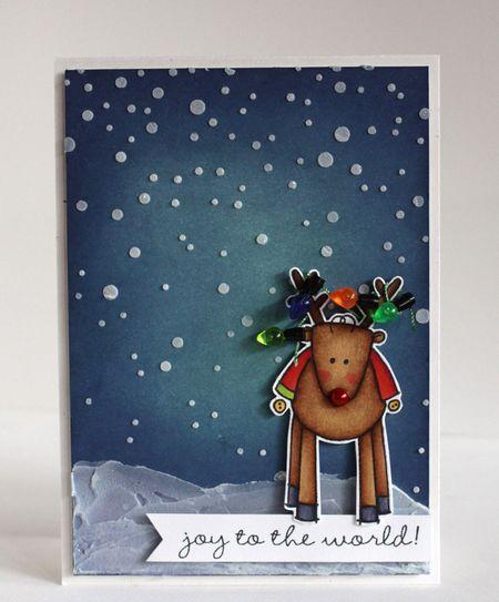 Alice Wertz - Reindeer Card
