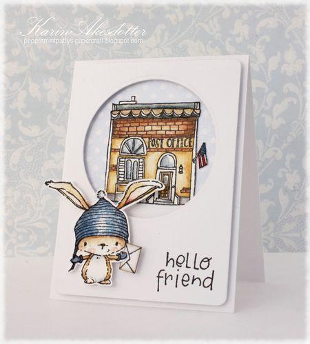 Karin Akesdotter - Birch Post Office Card - side
