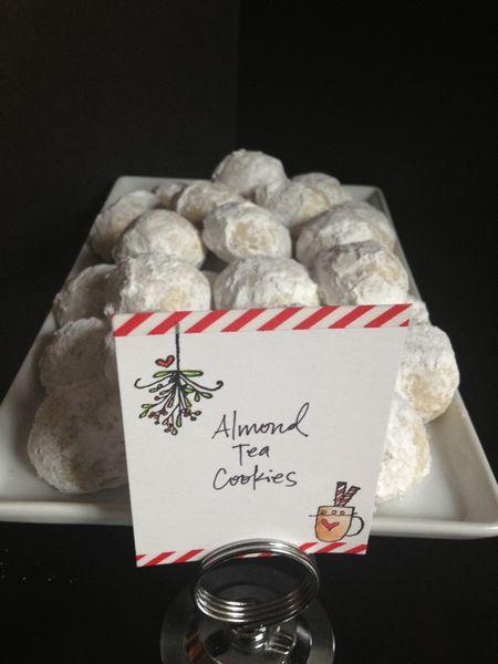 Lorraine Marasigan - Almond Tea Cookie HGK Sign