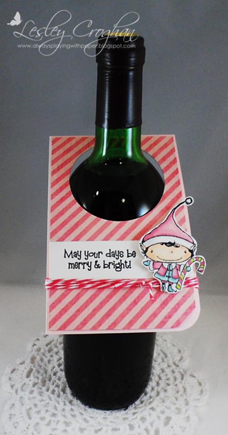 Lesley Croghan - Wine Bottle Tag
