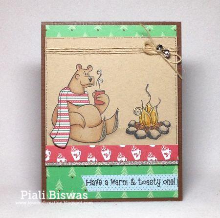 Piali Biswas - Willard Card